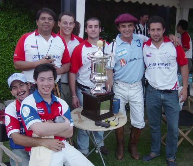The King's Cup with the gauchos