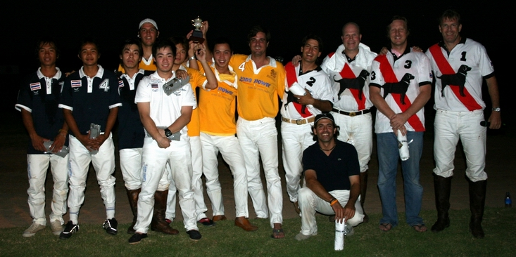 King Power takes Loy Kratong Cup and Thai National Team tie Black Dog on day 2.