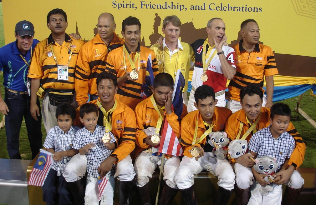 Malaysia Team -- Gold Medal (with Khun Link and Santi)
