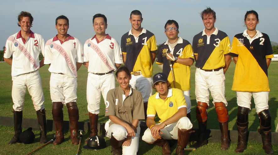 China's first polo visitors to Thailand