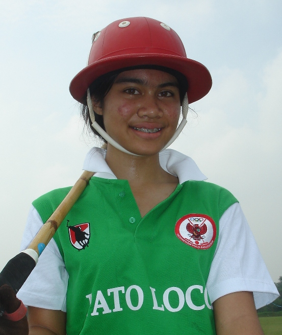 Daninya Zakir - Indonesia's leading Lady polo player