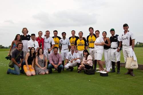 Teams and friends at Polo Escape