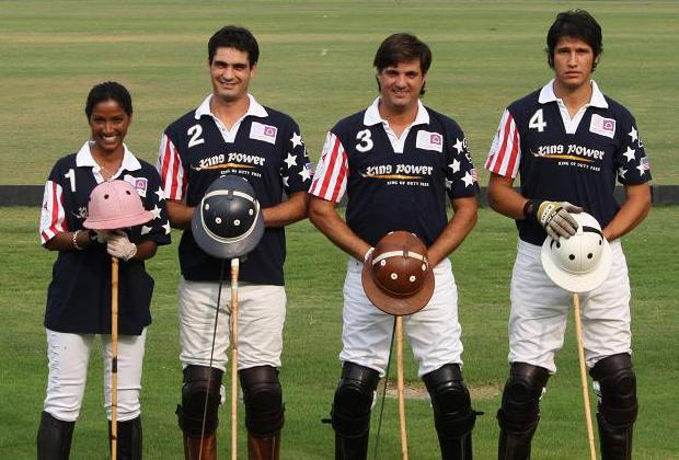 Hema joins the 8 goal polo team of Cabezas and Caballeros
