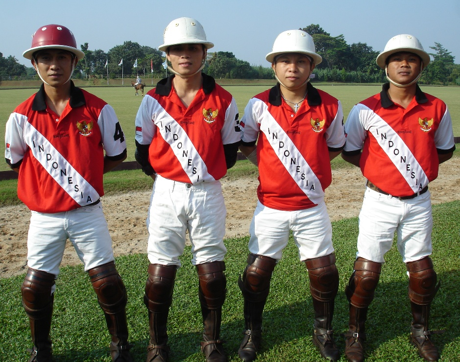 "Indonesia Team in ""Bowo Position"""